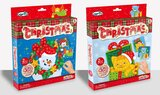 Brain Giggles Christmas Mosaic Sticker Toy Arts and Crafts Kits for Boys and Girls