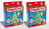 Brain Giggles DIY Mosaic Sticker Christmas Tree Arts and Craft Kit for Kids