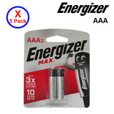 5 Pack Of 2-Piece AAA Energizer Battery