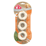 8in1 Delights Meaty Chewy Rings 3pieces