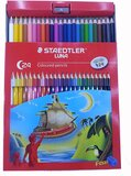 Staedtler Staedtler Luna 24 Colors Coloured Pencil Set With Free Pencil Sharpener