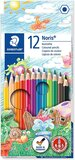 Staedtler Staedtler Noris Club Colouring Pencils, Multi-Colour, Pack of 12