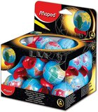 Maped Globe 1 Hole Pencil Sharpener with Display 051111