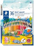 Staedtler Staedtler Watercolor Pencils, Box Of 36 Colors (14410Nd36)
