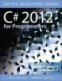 C# 2012 for Programmers Paperback