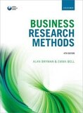 Business Research Methods Paperback