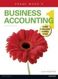 Frank Wood's Business Accounting Volume 1 Paperback