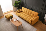 Light Luxury Fabric Sofas Bed Sectional Furniture Modern European Small Family Living Room Sofas Set