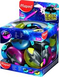 Maped 1 Hole Galactic Pencil Sharpener - Assorted Colours (Box of 24)