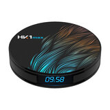 Wownect HK1 Max Android TV Box RK3318 Chipset [4GB RAM 128GB ROM] with 5G Support WIFI Bluetooth Full HD 3D 4K TV Box Wireless Screen Projection [Airplay & Miracast]
