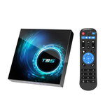 Wownect T95 MAX Plus Android TV Box H616 Quad-core 64-bit [4GB RAM 64GB ROM] with 5G Support WIFI Bluetooth Full HD 4K TV Box 6K UHD Resolution Android TV Box [Supports Wireless Mobile Mirroring]