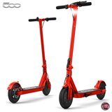 """Fiat F500 E-Scooter 10"""" - Folding Electric Scooter, Portable Compact Stylish Trendy, 250W Motor Power - Red"""