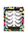 PINKY GOAT Pair Of 5 Artist 1 Eyelashes Black