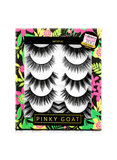 PINKY GOAT Pair Of 5 Artist 2 False Eyelashes Black