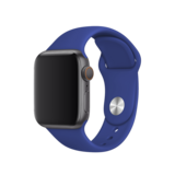 BeHello - Premium Apple Watch 42/44mm Silicone Strap - Blue