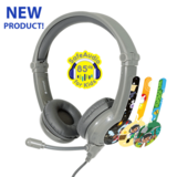 Buddyphones -Galaxy Gaming Headphones - Grey
