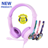 Buddyphones - Galaxy Gaming Headphones - Purple