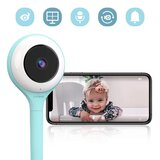 Lollipop - HD WiFi Video Baby Monitor - Turquoise