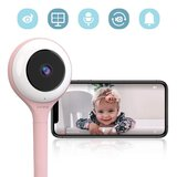 Lollipop - HD WiFi Video Baby Monitor - Cotton Candy Pink