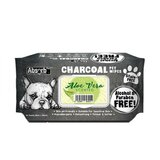 Absolute Pet Absorb Plus Charcoal Pet Wipes Aloe Vera 80 Sheets