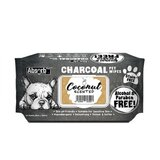 Absolute Pet Absorb Plus Charcoal Pet Wipes Coconut 80 Sheets