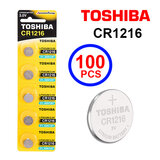 Toshiba CR1216 3V Lithium Coin Cell Battery One Box