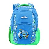 Smily Kiddos Dual Color Backpack - Blue