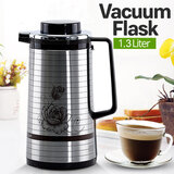 Krypton Knvf6068 1.3 Litre Stainless Steel Double Glass Liner Vaccum Flask