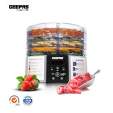 Geepas 520W Digital Food Dehydrator - Food Dryer with 5 Large Trays, Adjustable Temperature & Timer Settings, Ideal for Fruit, Healthy Snacks, Vegetables, Meats & Chili, BPA-Free