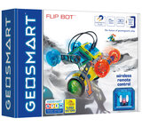 Flip Bot By Geosmart - GeoMagnetic Vehicles and STEM Focused Magnetic Construction Set-Multicolor