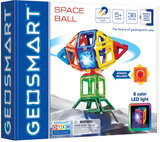 Space Ball By Geosmart -  STEM Focused Magnetic Construction Set-Multicolor