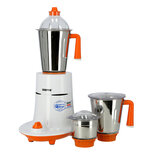 Geepas GSB5080 550W 3-in-1 Mixer Grinder - Stainless Steel Jars & Blades - 3 Speed, Safety Twist Lock - Perfect for Dry & Wet Fine Grinding - Indian Curry Spices Coconut Grinding Mixing | 2 Years Warranty