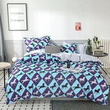 DEALS FOR LESS  - King Size, Duvet Cover , Bedding Set of 6 Pieces, Horse   Design