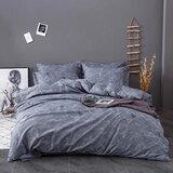 DEALS FOR LESS  - King Size, Duvet Cover , Bedding Set of 6 Pieces, Leaves Design
