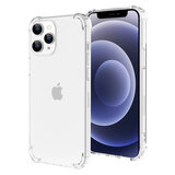 O Ozone Case Compatible with Apple iPhone 12 Pro / iPhone 12 (6.1 Inch) Case, Defender Series TPU Transparent Slim Protection, Shockproof [ Designed Case for iPhone 12 Pro / iPhone 12] - Clear