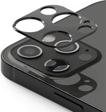 Ringke Camera Styling Compatible with Apple iPhone 12 Pro Camera Lens Protector Aluminum Frame Tough Styling Bezel [ Designed Lens Protector for iPhone 12 Pro ] - Grey