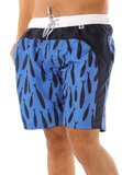 Scipo Fished  Blue Mens Shorts