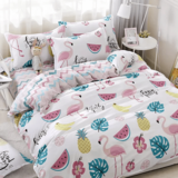 DEALS FOR LESS  - Single Size, Duvet Cover , Bedding Set of 4 Pieces,  Watermelon Design
