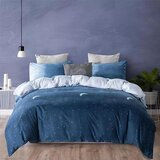 DEALS FOR LESS- Queen Size Bedsheet , 6  pieces Duvet Cover Bedding Set , Ombre Design.