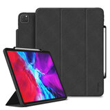 Ringke Smart Case for iPad Pro 12.9inch (2020) with Pencil Holder Multi-Angle Tablet Stand With Pencil Storage & Wake Sleep Function [Designed for Apple iPad Pro 2020 12.9' Case ] - Black