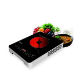 Krypton 2000W Infrared Cooker   Electric Infrared Glass Ceramic Cooker   Digital LED Display   8 Power Levels
