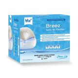 Blu Breez Ionic Air Purifier - Removes Airborne Viruses, Natural Immune System Booster, Eliminates Allergens & Odors, Therapeutic Aromatherapy