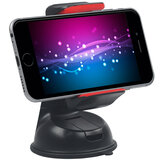 Promate Car Holder, Car Mount Holder for Smartphone and GPS, Mount-2 Red