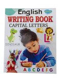 English Writing Book Capital Letters - Paperback