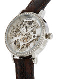 Geneval of Switzerland Casual Watch For Women Analog Leather - Automatic - GLAS1712WWO