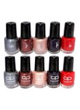 CP Trendies 10-Piece Nail Polish Set Multicolour