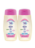 Cool & Cool Baby Oil 250ml Twin Pack, Pack Of 2