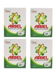 Ariel 4-Piece Automatic Stain Removal Laundry Detergent Powder White 2.5Kg
