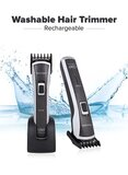 Rechargeable Hair Trimmer Washable Cyt880 BlackSilver