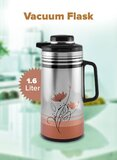 Cyber Vacuum Flask With Lid Assorted